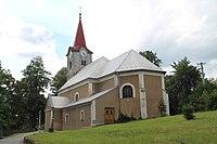 Leskovec nad Moravicí, kostel sv. Vavřince (2016-08-15; 01).jpg