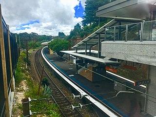 Leura railway station