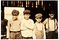 Lewis Hine, Youngsters on day shift, Old Dominion Glass Co., Alexandria, Virginia, 1911.jpg