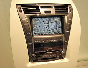 G-Book - Lexus navigation system with G-Book/G-Link ('G'-icon button on touchscreen)