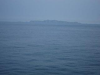 Liang Island Islet west of Taiwan.