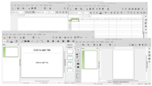 LibreOffice Writer, Calc, Impress and Draw.png
