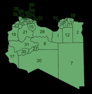 Kommuner i Libyen