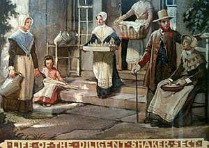 Shaker families - Life of the Diligent Shaker, Shaker Historical Society