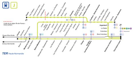 Ligne j du transilien wikip dia for Plans de bricolage en ligne