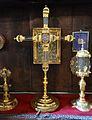 Lignum crucis, segle XV, Monestir de la Santíssima Trinitat de València.JPG