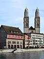 Limmatquai - Rüden & Zimmerleuten - Grossmünster - Wühre 2012-09-26 16-57-41.JPG