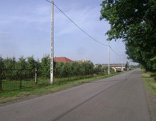 Linin Village in Masovian, Poland