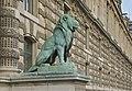Lion Barye porte des Lions Louvre Paris.jpg