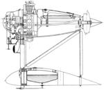 Lioré et Olivier LeO H-180 engine mounting detail L'Aéronautique March,1928.png