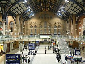 Commuters from East Anglia arrive at London's Liverpool Street station