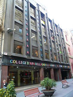 Colegio De Aparejadores, Arquitectos Técnicos E Ingenieros De Edificación  De Barcelona