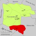 Localització de Dosaigües respecte de la Foia de Bunyol.png