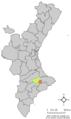 Localització de Fageca respecte el País Valencià.png