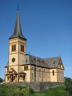 Vågan Church Church in Nordland, Norway