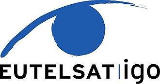 European Telecommunications Satellite Organization - Image: Logo E.igo Officiel