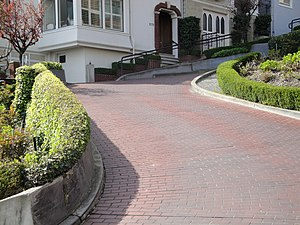 Lombard Street (San Francisco) - Image: Lombard Street San Francisco