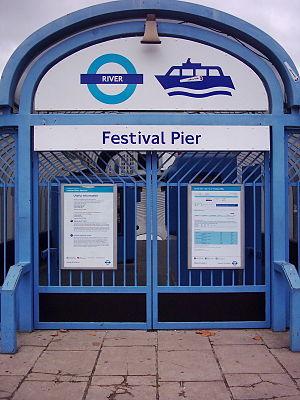 Festival Pier - Festival Pier entrance