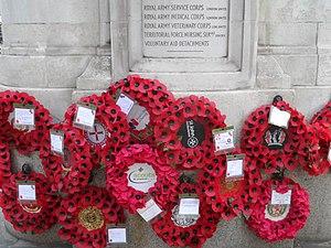 London Troops War Memorial - Image: London Troops War Memorial 11