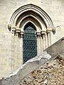Longjumeau (91), église Saint-Martin, clocher, 1er étage, fenêtre côté est.jpg