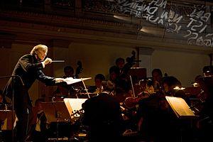 Lothar Zagrosek - Image: Lothar Zagrosek dirigiert Orfeo ed Euridice Konzerthaus Berlin © Bernd Uhlig