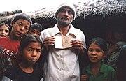 Lotshampa refugees in Beldangi Camp