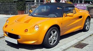 Lotus Elise front 20090806