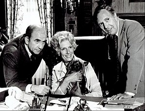 Lou Grant (TV series) - Ed Asner, Nancy Marchand and Mason Adams (1977)
