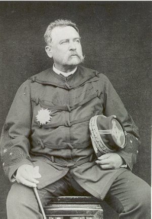Louis Brière de l'Isle - General Briere de l'Isle, with the plaque of a Grand Officer of the Légion d'honneur on his chest.