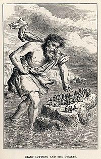 Louis Huard - Giant Suttung and the Dwarfs