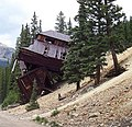 Lower terminal, old Romley tram, CO.jpg