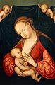 Lucas Cranach d.Ä. - Die Jungfrau stillt das Jesuskind (Dom- und Diözesanmuseum, Wien).jpg