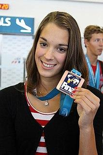 Lucie Svěcená Czech swimmer