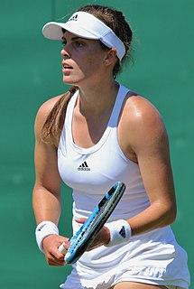 Maia Lumsden British tennis player