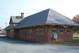Luray Norfolk and Western Passenger Station