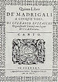 Luzzaschis Quinto libero dei madrigali (first edition).jpg