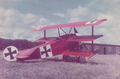 Lynn Garrison's Fokker Dr.1 EI-APW, Ireland, 1970.png