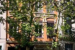 Boulevard de la Croix-Rousse, d�tail de style architectural