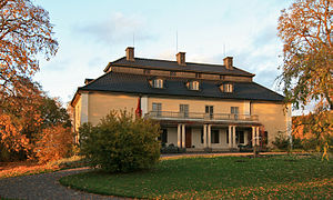 Värmland - Selma Lagerlöfs residence Mårbacka in Sunne.
