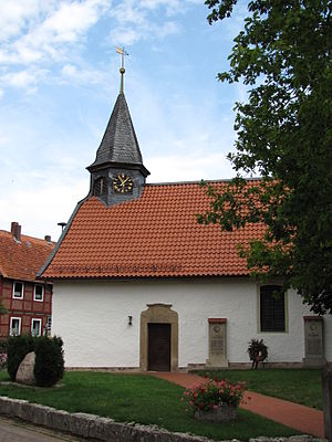 Sibbesse - Protestant church in Möllensen.