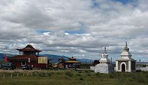 Danzandarjaa Monastery - Image: Mörön Monastery 1