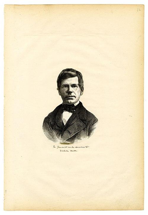 ヴィルヘルム・ミュラー(Johann Ludwig Wilhelm Müller)Wikipediaより