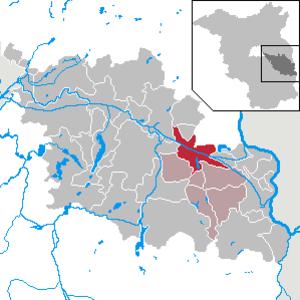 Müllrose - Image: Müllrose in LOS