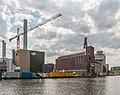 Münster, Kraftwerk, Kran und Flechtheimspeicher -- 2015 -- 5912.jpg