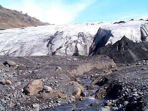 Mýrdalsjökull - Image: Mýrdalsjökull