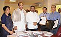 M. Venkaiah Naidu and the Union Minister for Electronics & Information Technology and Law & Justice.jpg