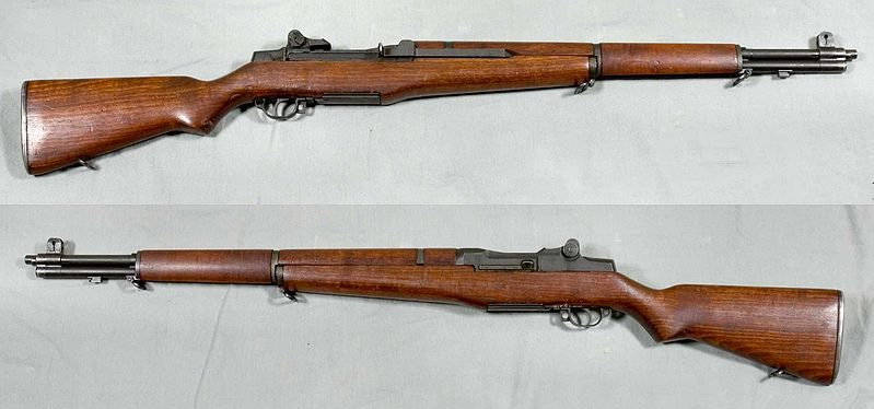 File:M1 Garand rifle - USA - 30-06 - Armémuseum.jpg
