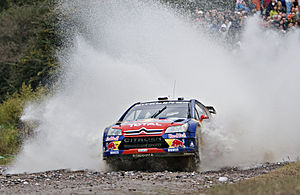 Sebastien Loeb during Rally Argentina 2008