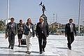 MINISTRO DE DEFENSA PEDRO CATERIANO SE REUNIÓ CON SU HOMÓLOGA DEL ECUADOR MARÍA FERNANDA ESPINOSA (13699745475).jpg