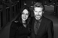 MJK 12327 Giada Colagrande and Willem Dafoe (Berlinale 2018).jpg